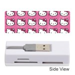 Hello Kitty Patterns Memory Card Reader (Stick)  Front
