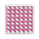 Hello Kitty Patterns Memory Card Reader (Square)  Front