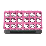 Hello Kitty Patterns Memory Card Reader with CF Front