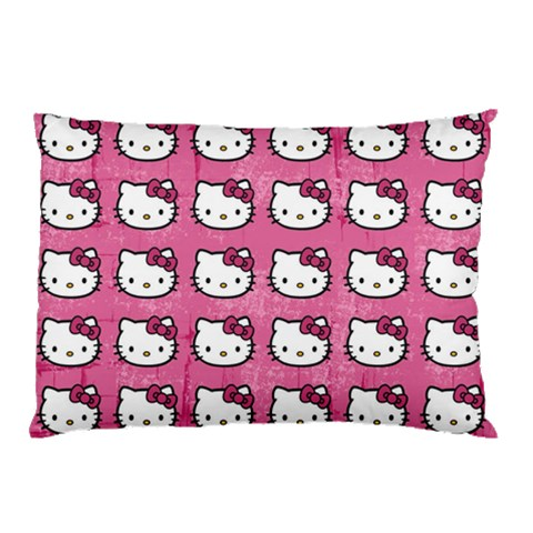 Hello Kitty Patterns Pillow Case (Two Sides)