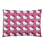 Hello Kitty Patterns Pillow Case (Two Sides) Back