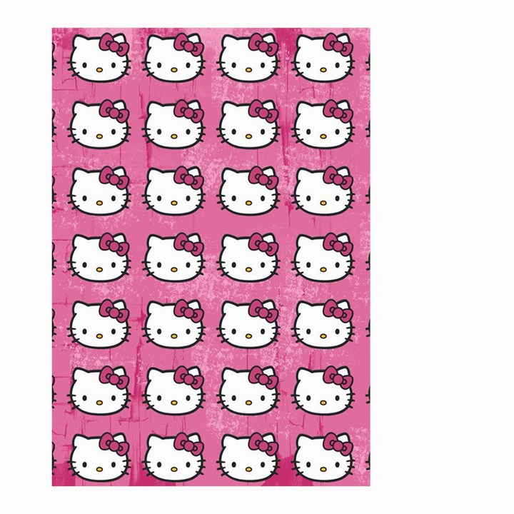 Hello Kitty Patterns Small Garden Flag (Two Sides)