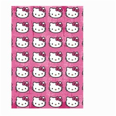 Hello Kitty Patterns Large Garden Flag (Two Sides)