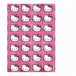 Hello Kitty Patterns Large Garden Flag (Two Sides) Front