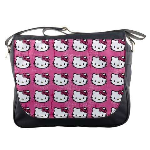 Hello Kitty Patterns Messenger Bags