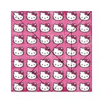 Hello Kitty Patterns Acrylic Tangram Puzzle (6  x 6 ) Front
