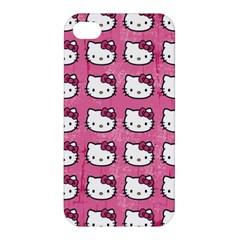 Hello Kitty Patterns Apple iPhone 4/4S Premium Hardshell Case