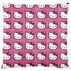 Hello Kitty Patterns Large Cushion Case (One Side)