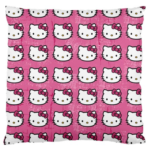 Hello Kitty Patterns Large Cushion Case (Two Sides)