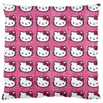 Hello Kitty Patterns Large Cushion Case (Two Sides) Back