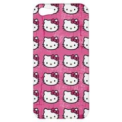 Hello Kitty Patterns Apple iPhone 5 Hardshell Case