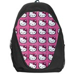 Hello Kitty Patterns Backpack Bag Front
