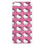 Hello Kitty Patterns Apple iPhone 5 Seamless Case (White) Front