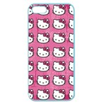 Hello Kitty Patterns Apple Seamless iPhone 5 Case (Color) Front