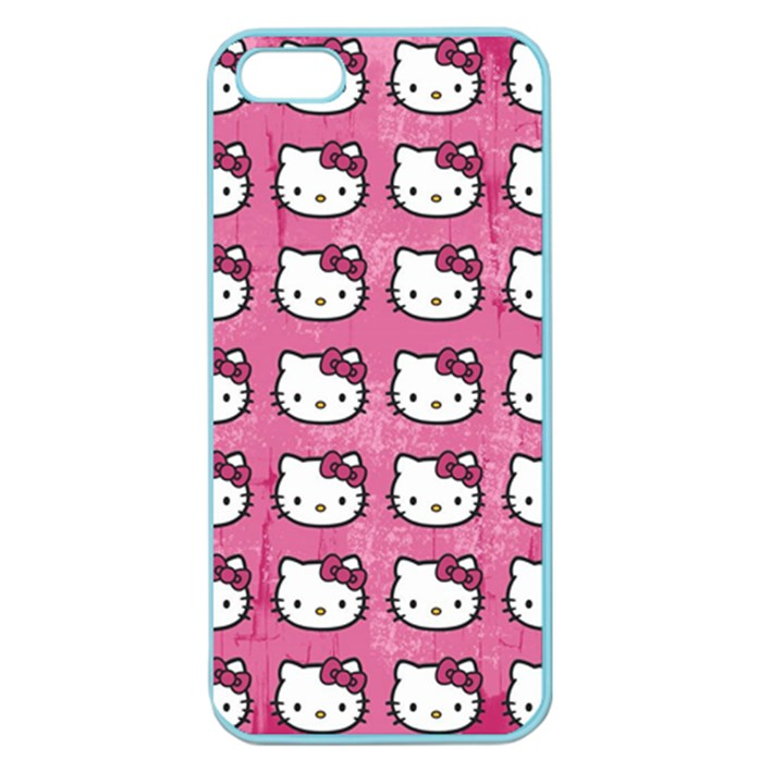 Hello Kitty Patterns Apple Seamless iPhone 5 Case (Color)