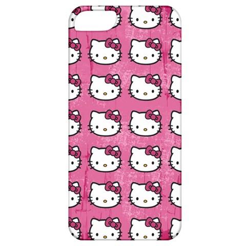 Hello Kitty Patterns Apple iPhone 5 Classic Hardshell Case