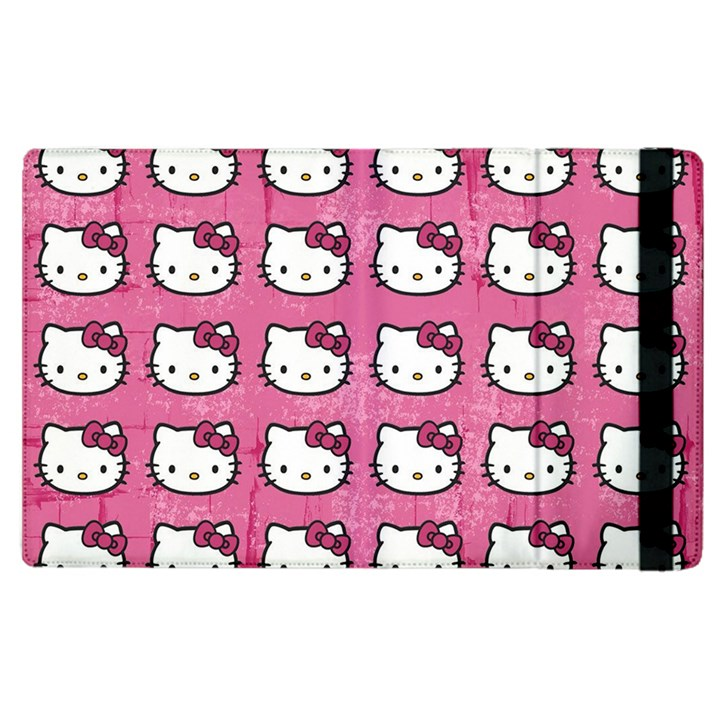Hello Kitty Patterns Apple iPad 3/4 Flip Case