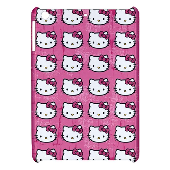 Hello Kitty Patterns Apple iPad Mini Hardshell Case