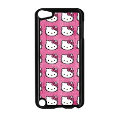 Hello Kitty Patterns Apple iPod Touch 5 Case (Black)