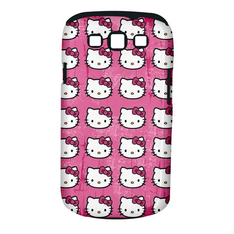 Hello Kitty Patterns Samsung Galaxy S III Classic Hardshell Case (PC+Silicone)