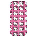 Hello Kitty Patterns Samsung Galaxy S3 S III Classic Hardshell Back Case Front