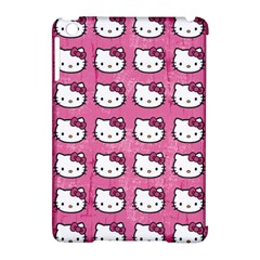 Hello Kitty Patterns Apple iPad Mini Hardshell Case (Compatible with Smart Cover)