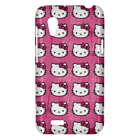 Hello Kitty Patterns HTC Desire VT (T328T) Hardshell Case