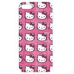 Hello Kitty Patterns Apple iPhone 5 Hardshell Case with Stand