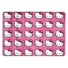 Hello Kitty Patterns Samsung Galaxy Tab 10.1  P7500 Flip Case