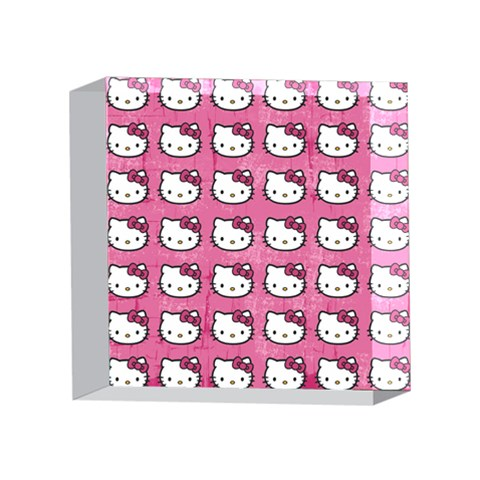 Hello Kitty Patterns 4 x 4  Acrylic Photo Blocks