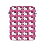 Hello Kitty Patterns Apple iPad 2/3/4 Protective Soft Cases Front