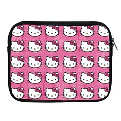 Hello Kitty Patterns Apple iPad 2/3/4 Zipper Cases