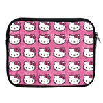 Hello Kitty Patterns Apple iPad 2/3/4 Zipper Cases Front