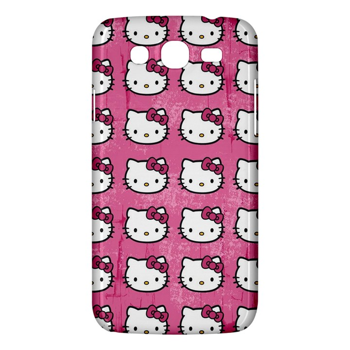 Hello Kitty Patterns Samsung Galaxy Mega 5.8 I9152 Hardshell Case