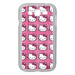 Hello Kitty Patterns Samsung Galaxy Grand DUOS I9082 Case (White) Front