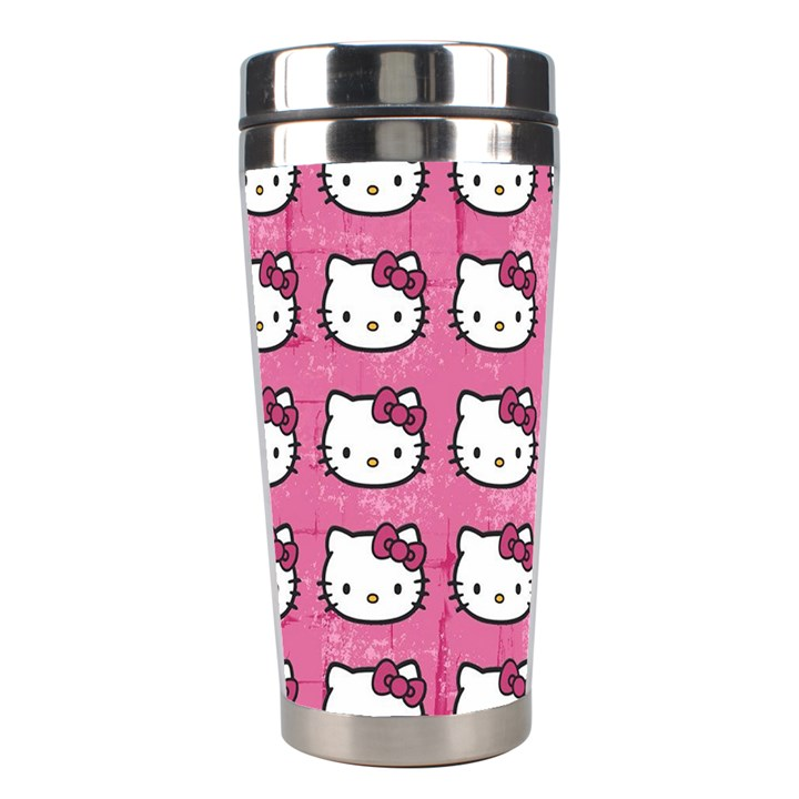 Hello Kitty Patterns Stainless Steel Travel Tumblers