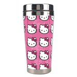 Hello Kitty Patterns Stainless Steel Travel Tumblers Center