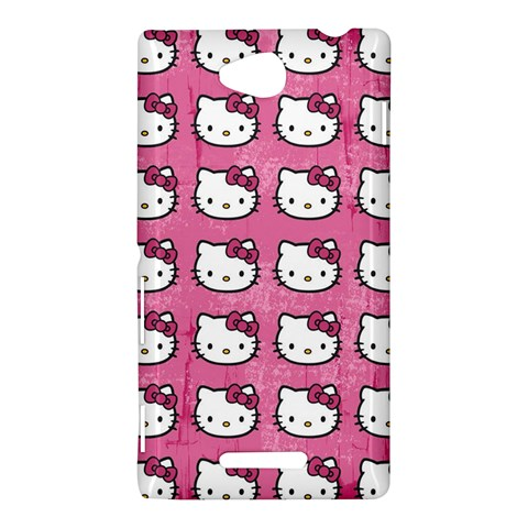 Hello Kitty Patterns Sony Xperia C (S39H)