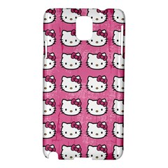 Hello Kitty Patterns Samsung Galaxy Note 3 N9005 Hardshell Case