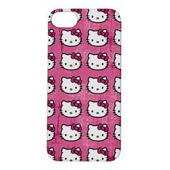 Hello Kitty Patterns Apple iPhone 5S/ SE Hardshell Case