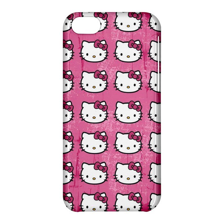Hello Kitty Patterns Apple iPhone 5C Hardshell Case