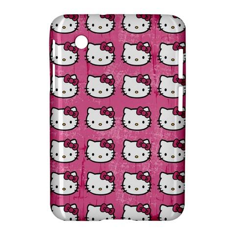 Hello Kitty Patterns Samsung Galaxy Tab 2 (7 ) P3100 Hardshell Case