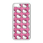 Hello Kitty Patterns Apple iPhone 5C Seamless Case (White) Front