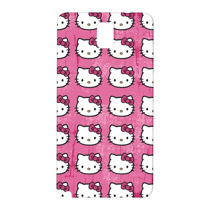 Hello Kitty Patterns Samsung Galaxy Note 3 N9005 Hardshell Back Case