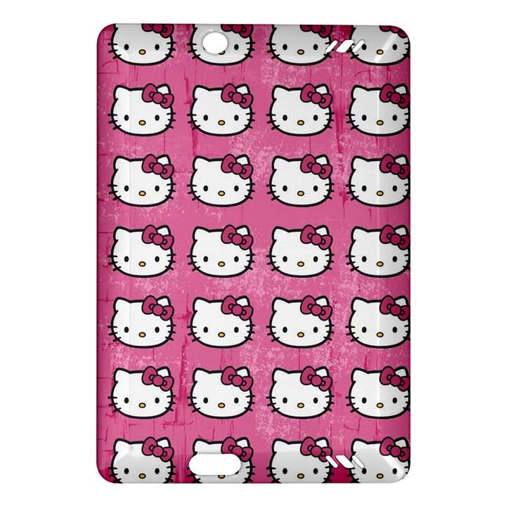 Hello Kitty Patterns Amazon Kindle Fire HD (2013) Hardshell Case