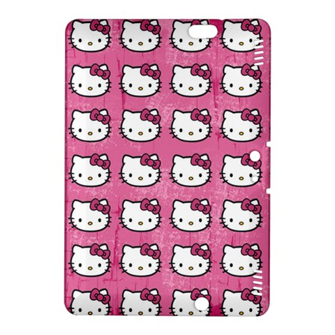 Hello Kitty Patterns Kindle Fire HDX 8.9  Hardshell Case