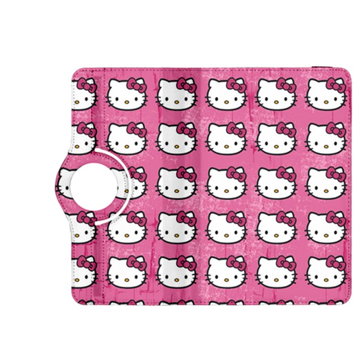 Hello Kitty Patterns Kindle Fire HDX 8.9  Flip 360 Case