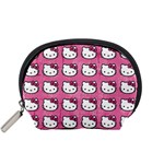 Hello Kitty Patterns Accessory Pouches (Small)  Front