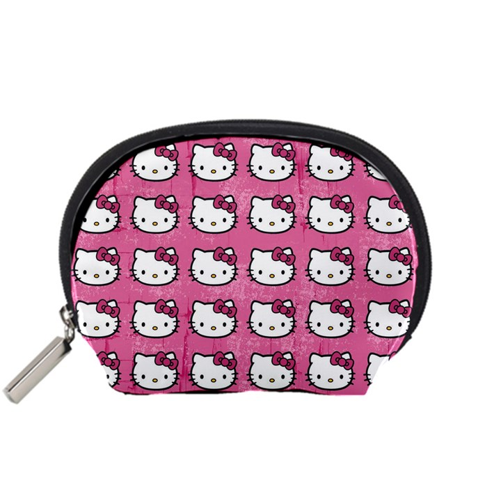 Hello Kitty Patterns Accessory Pouches (Small)
