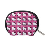 Hello Kitty Patterns Accessory Pouches (Small)  Back